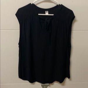 Black old navy blouse size xl